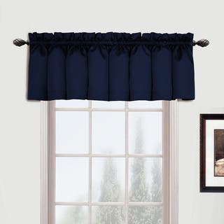Luxury Collection Metro Straight Valance - 54 x 16|https://ak1.ostkcdn.com/images/products/10574807/P17651219.jpg?impolicy=medium