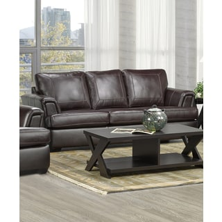 Duke Italian Leather Sofa