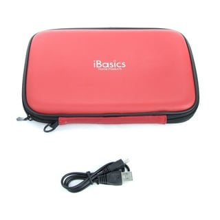 iBasics Portable Speaker Case with Rechargeable Battery