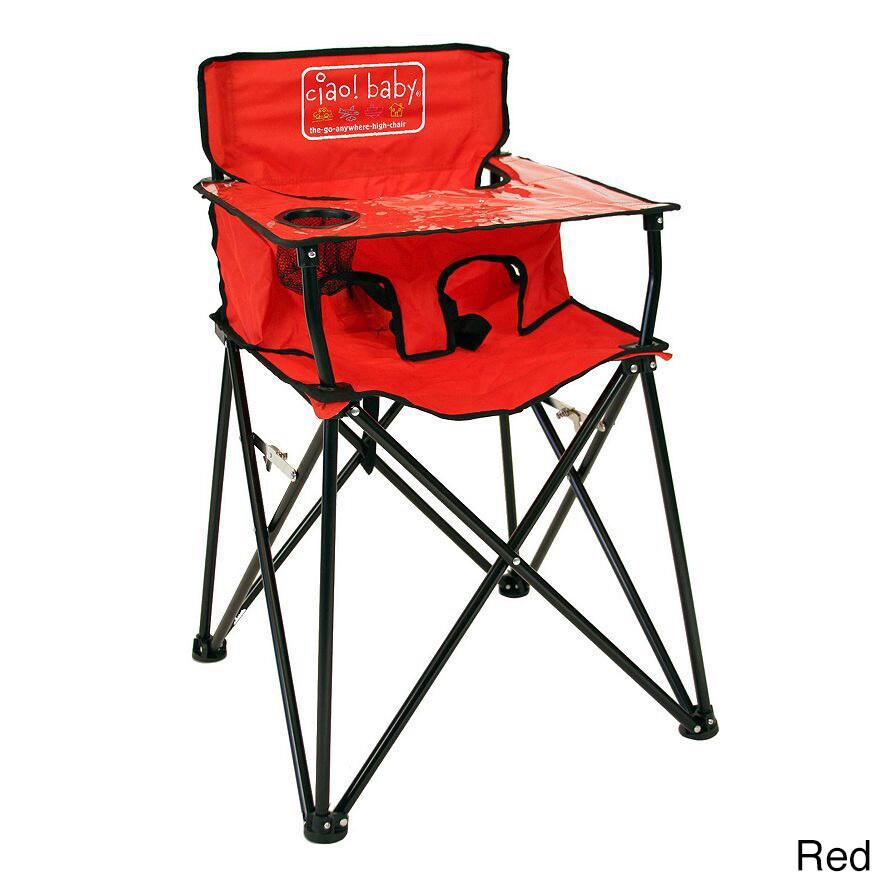 Ciao Baby Portable High Chair (Red)
