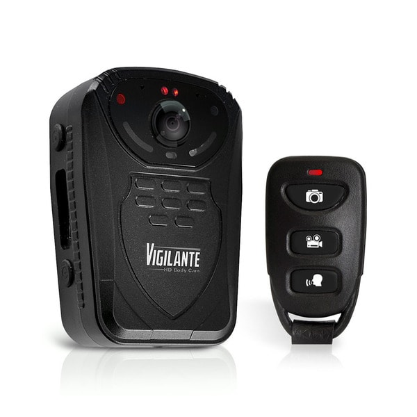 Pyle PPBCM10 Vigilante Compact and Portable HD Wireless Body Camera with Night Vision