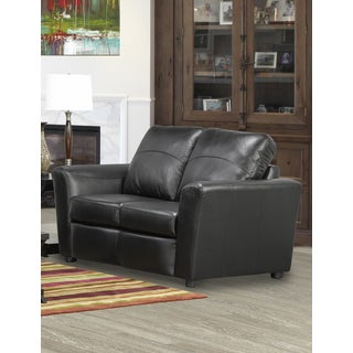 Augusta Italian Leather Loveseat