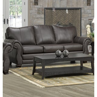 Madison Italian Leather Sofa