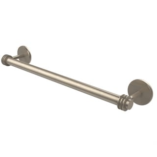 Allied Brass Satellite Orbit Two Collection 30-inch Towel Bar with Dotted Detail