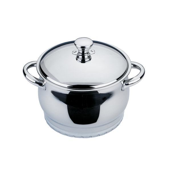 Shop Cosmo 8 Inch 4 Quart Covered Dutch Oven Free