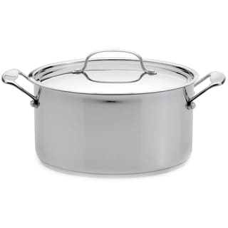 EarthChef Premium 8.2-quart Stainless Steel Lid Covered Stockpot