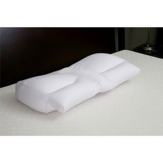 Arm Tunnel Microbeads Clouds Pillow - White