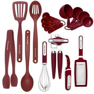 KitchenAid 17 Piece Red Tool Set
