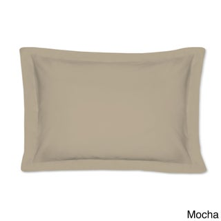 Cotton Rich 200 Thread Count Tailored Standard Shams with 2-inch Flange (Pack of 2)