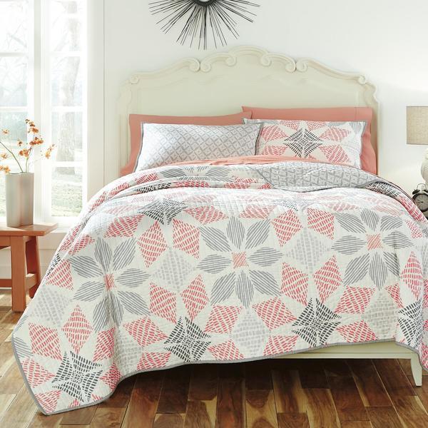 KD Spain Canyon 3-piece Cotton Quilt Set
