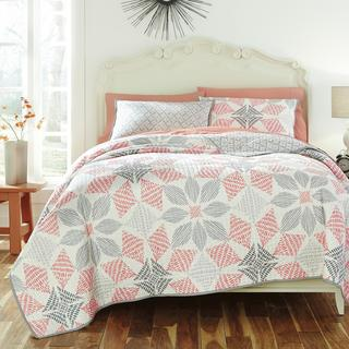 KD Spain Canyon 3-piece Cotton Quilt Set