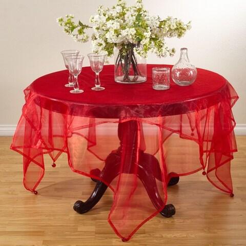 Sheer Organza Tablecloth