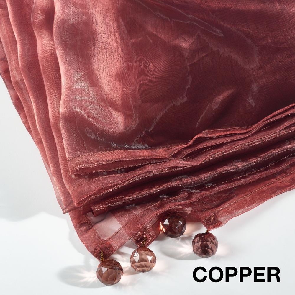 Shop Sheer Organza Tablecloth - Overstock - 10575227