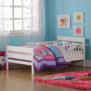 Baby Relax Cruz White Toddler Bed