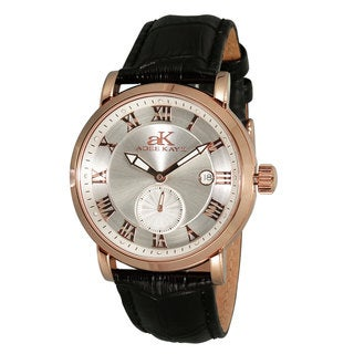 Adee Kaye Men's AK9060 Vintage Automatic Design Timepiece