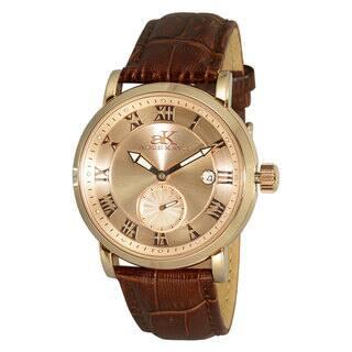 Adee Kaye Men's AK9060 Vintage Automatic Design Timepiece|https://ak1.ostkcdn.com/images/products/10575251/P17651581.jpg?impolicy=medium