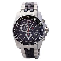 Oniss Men's  Mens Sporty Stainless Steel and Ceramic Design Timepiece