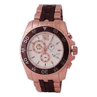 Oniss Men's ON4220 Mens Sporty Stainless Steel and Ceramic Design Timepiece