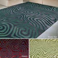 Rug Squared Marietta Abstract Rug (7'3 x 9'3)