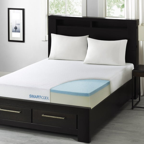 shop smart cool by sleep philosophy 10 inch full size gel memory foam mattress free shipping. Black Bedroom Furniture Sets. Home Design Ideas