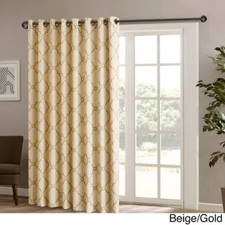 Madison Park Westmont Fretwork Print Patio Window Panel (More options available)