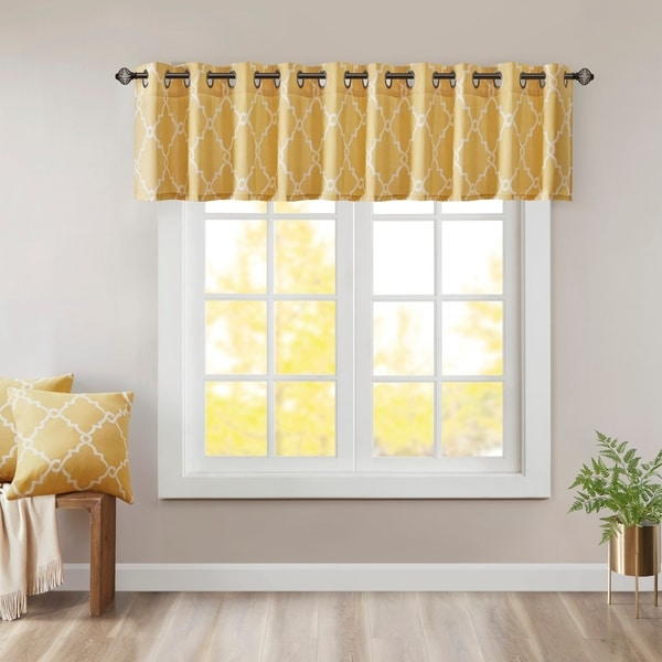 Buy Yellow Valances Online at Overstock | Our Best Window ...