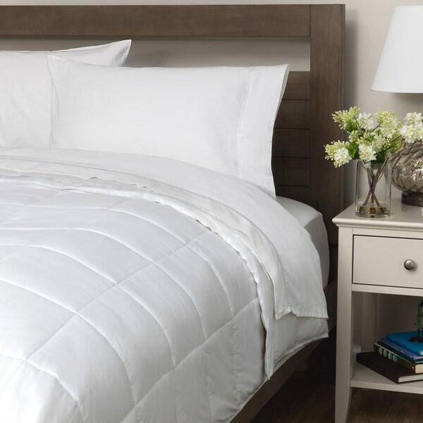 Maison Luxe MicroDown Alternative 300TC Cotton Blanket