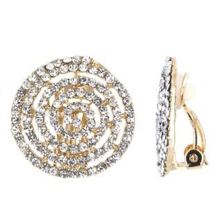 Spiral Clip On Earrings