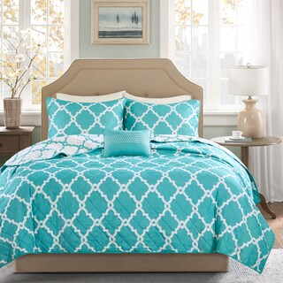 Madison Park Essentials Concord Reversible 4-piece Coverlet Set