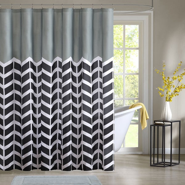 Intelligent Design Piper Shower Curtain