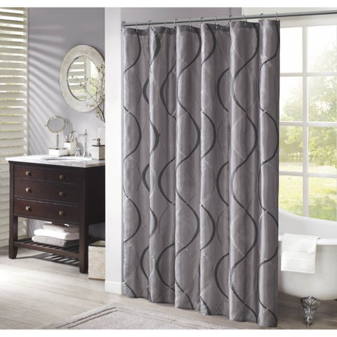 The Gray Barn Mission Creek Shower Curtain
