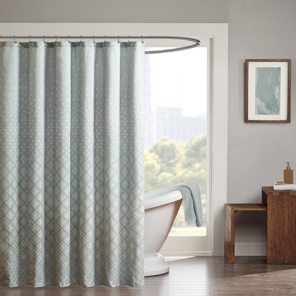Shop madison park rae shower curtain free shipping on - Madison park bathroom accessories ...