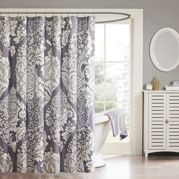 Madison Park Marcella Cotton Shower Curtain - Multi