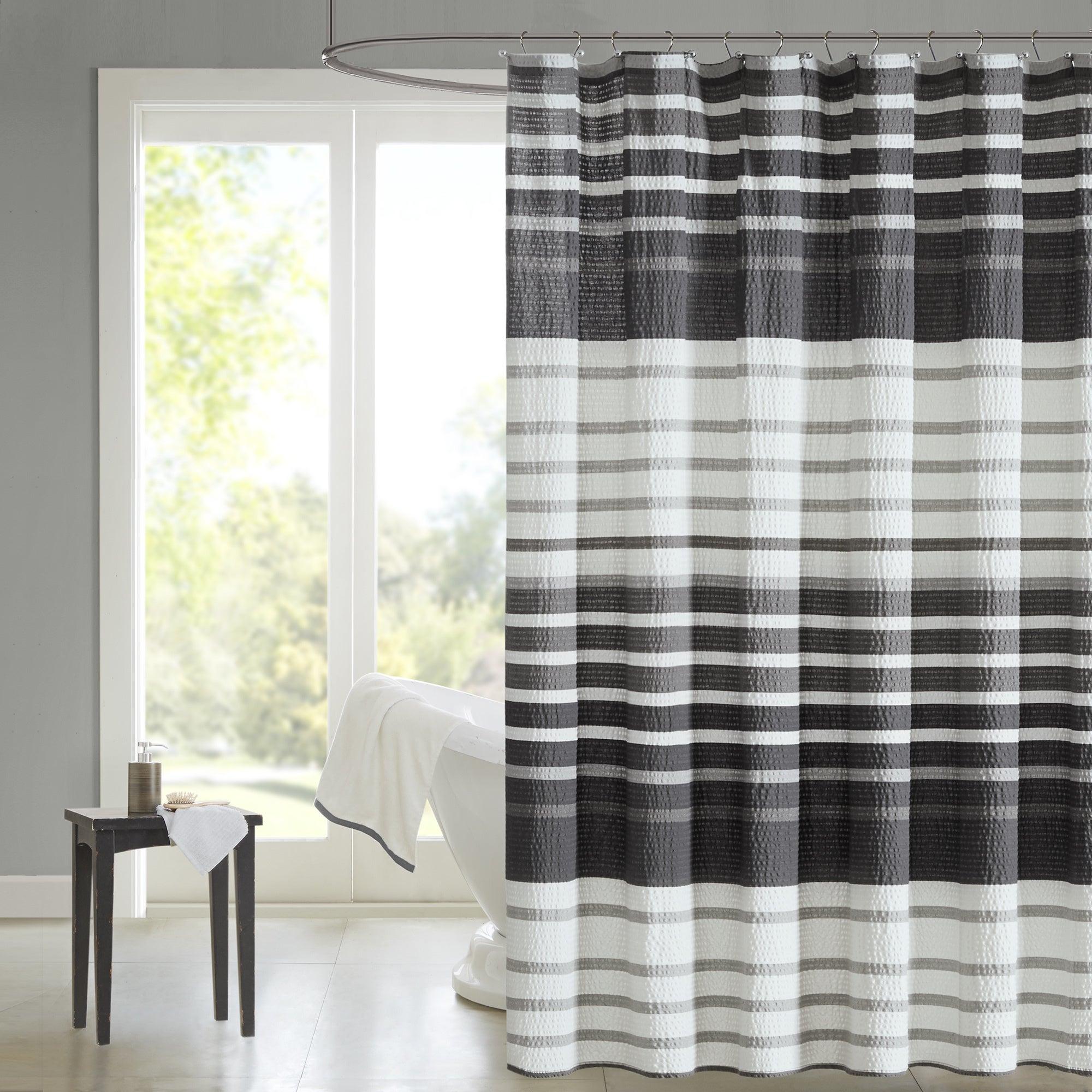 Madsion Park Pure Avila Cotton Shower Curtain