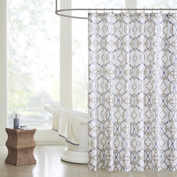 Madsion Park Pure Nicola Cotton Shower Curtain