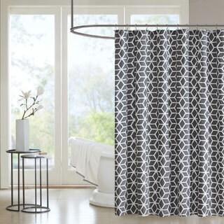 Madison Park Pure Andrea Cotton Shower Curtain  2 Colorways
