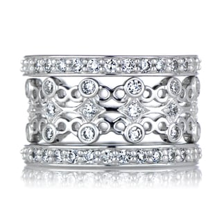 Sterling Silver Unique Stackable Ring Set