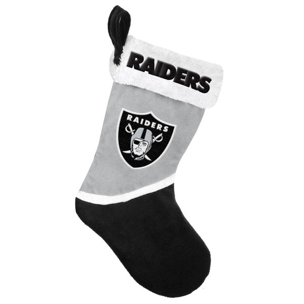 Forever Collectibles Oakland Raiders NFL 2015 Basic 17-inch Stocking
