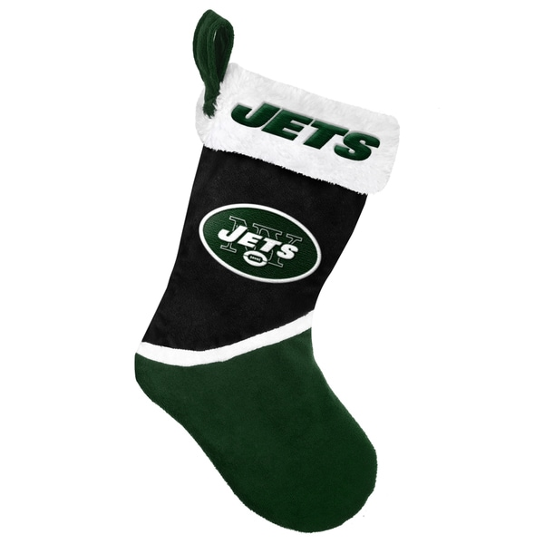 Forever Collectibles New York Jets NFL 2015 Basic 17-inch Stocking