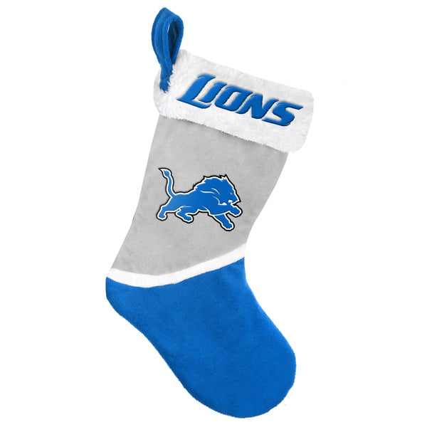 Forever Collectibles Detroit Lions NFL 2015 Basic 17-inch Stocking
