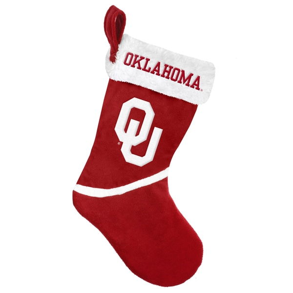 Forever Collectibles Oklahoma Sooners NCAA 2015 Basic 17-inch Stocking
