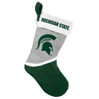 Forever Collectibles Michigan State Spartans NCAA 2015 Basic 17-inch Stocking