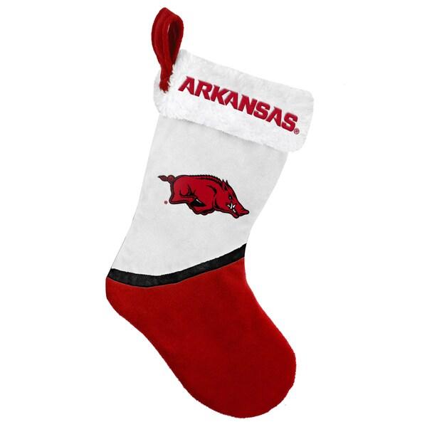 Forever Collectibles Arkansas Razorbacks NCAA 2015 Basic 17-inch Stocking
