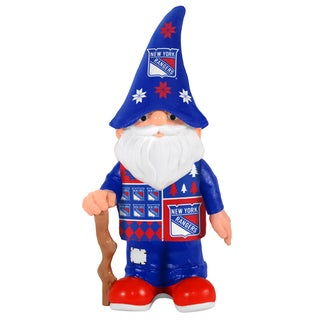 Forever Collectibles New York Rangers Real Ugly Sweater Gnome
