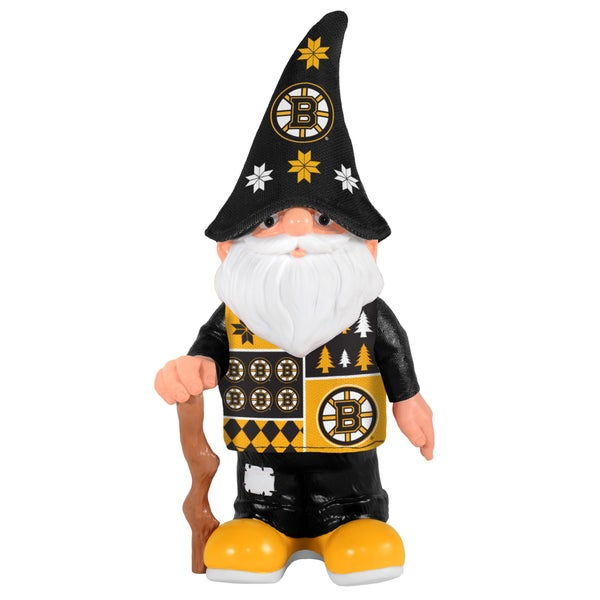 Forever Collectibles Boston Bruins Real Ugly Sweater Gnome