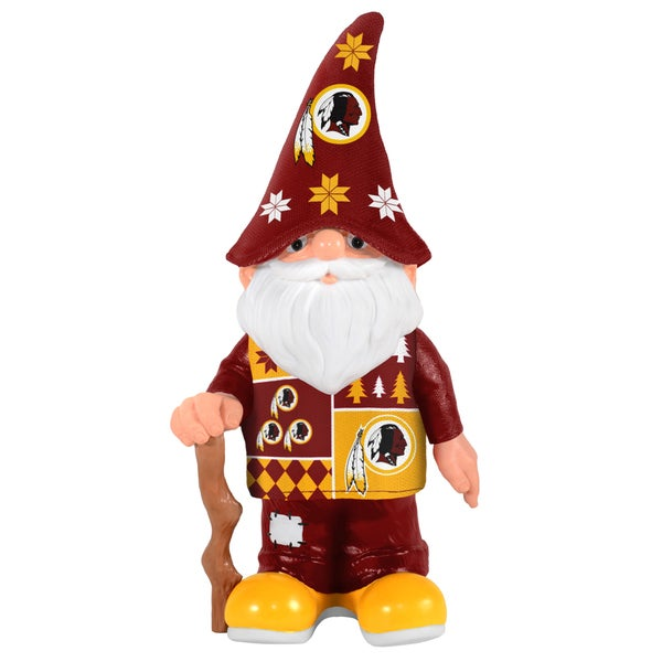 Forever Collectibles Washington Redskins Real Ugly Sweater Gnome