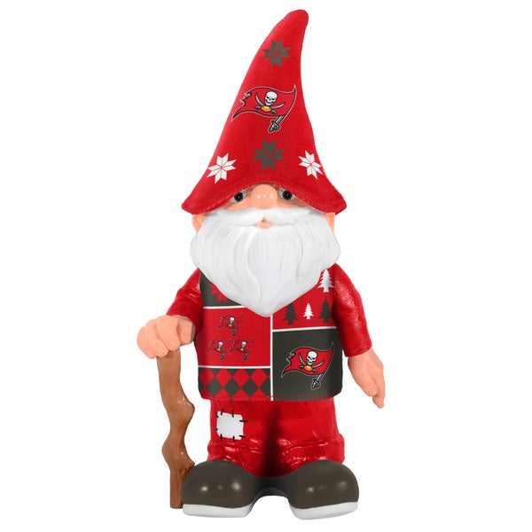 Forever Collectibles Tampa Bay Buccaneers Real Ugly Sweater Gnome