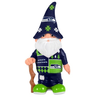 Forever Collectibles Seattle Seahawks Real Ugly Sweater Gnome