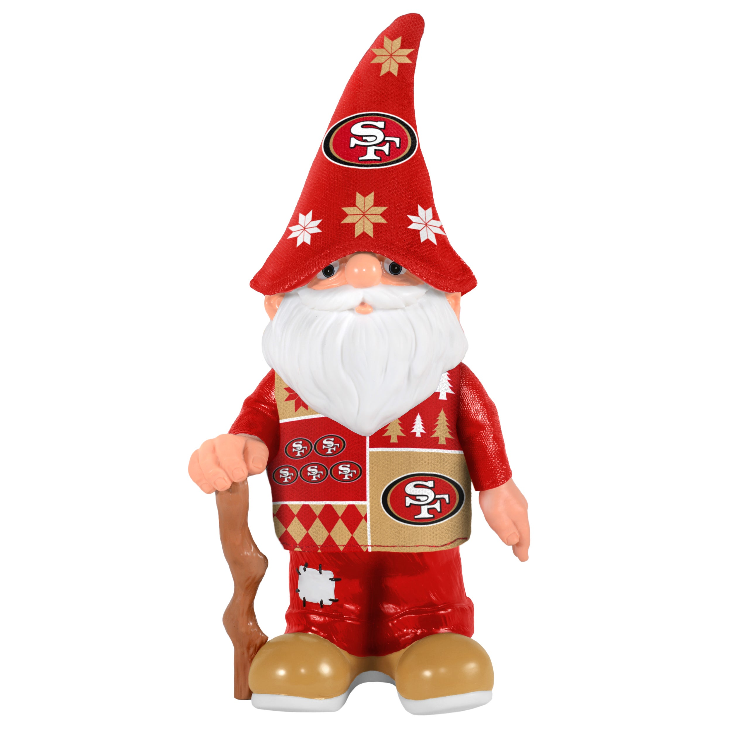 Forever San Francisco 49Ers Real Ugly Sweater Gnome (San ...