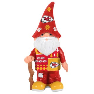 Forever Collectibles Kansas City Chiefs Real Ugly Sweater Gnome
